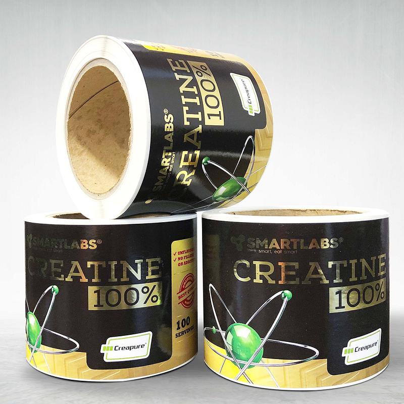 Adhesive custom printed packing pvc tape Smartlabs