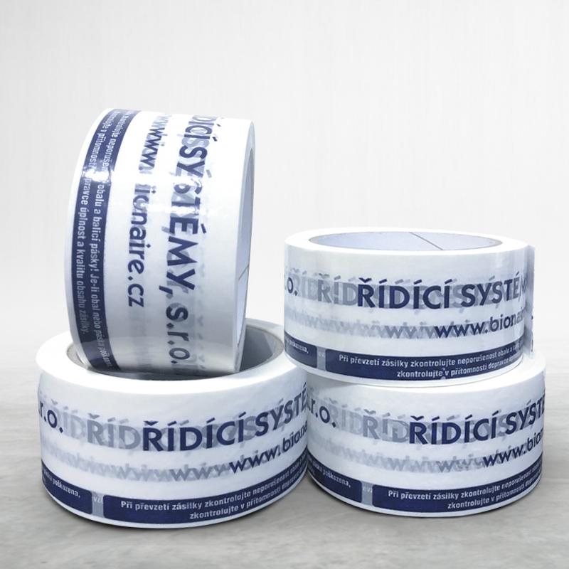 Lepící páska s potiskem Bionaire