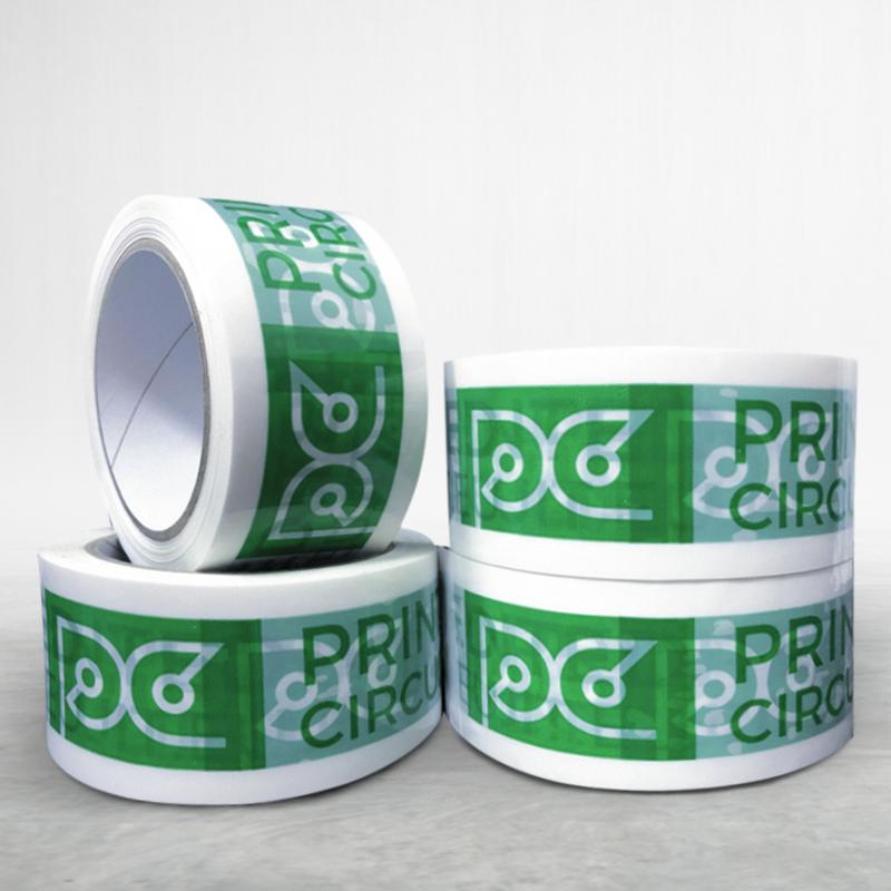 Adhesive custom printed packing bopp tape Print Circus