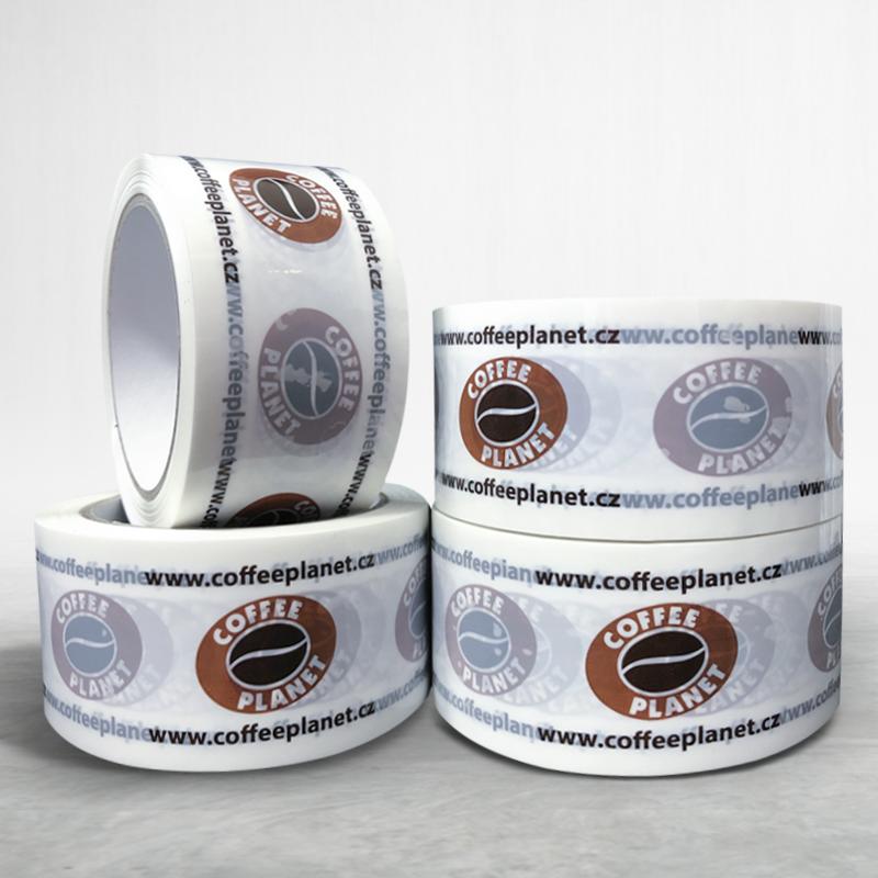 Lepící páska s potiskem Coffee Planet