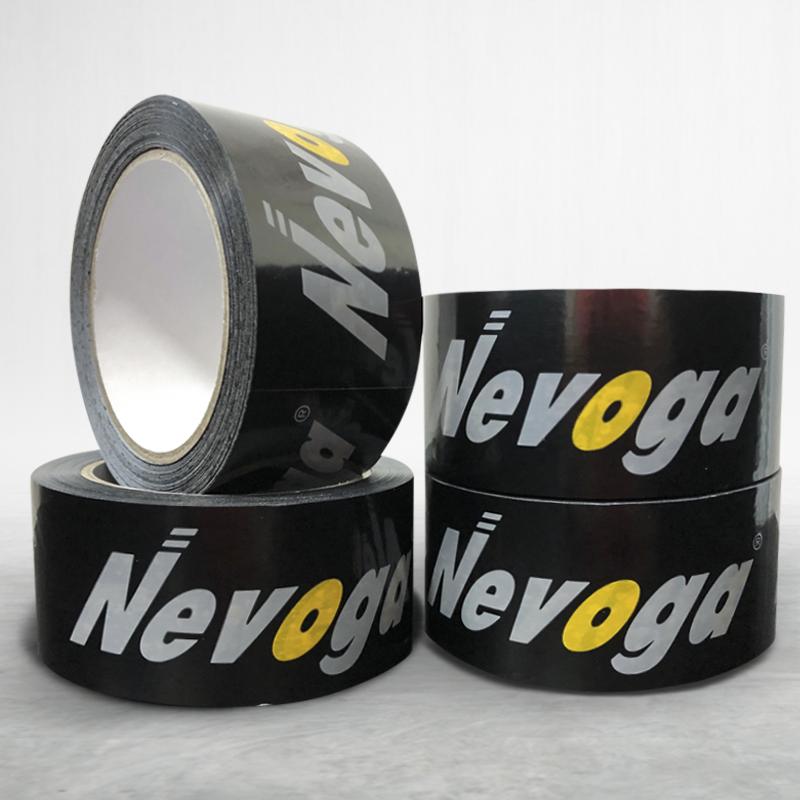 Adhesive custom printed packing pvc tape Novoga