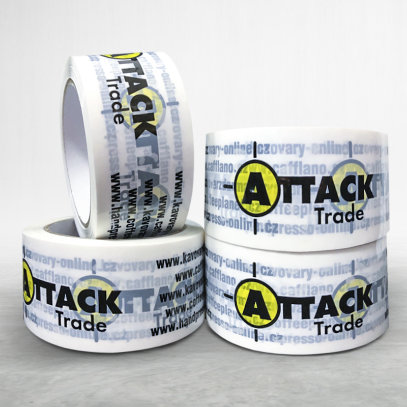 Adhesive custom printed packing bopp tape Attack Trade