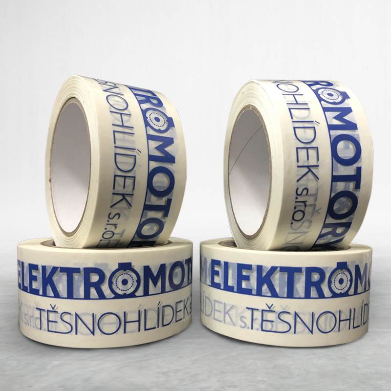 Adhesive custom printed packing bopp tape Těsnohlídek