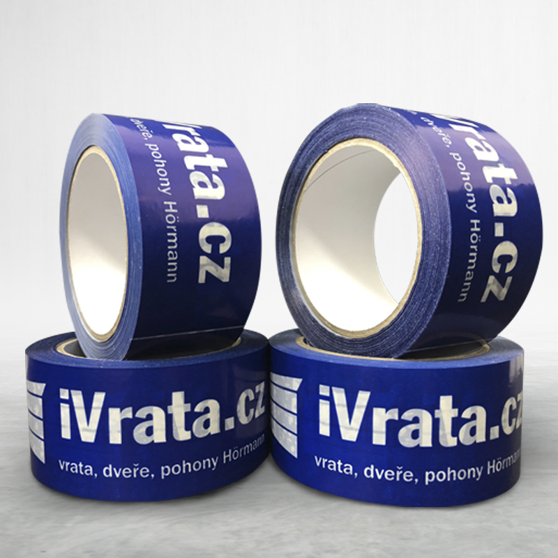 Adhesive custom printed packing pvc tape iVrata