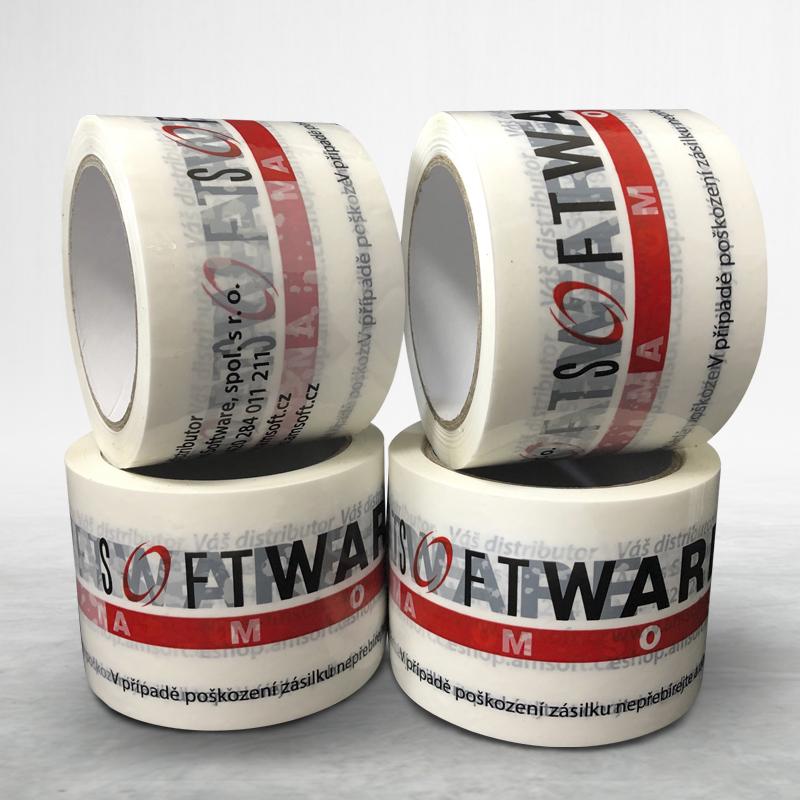 Lepící páska s vlastním potiskem