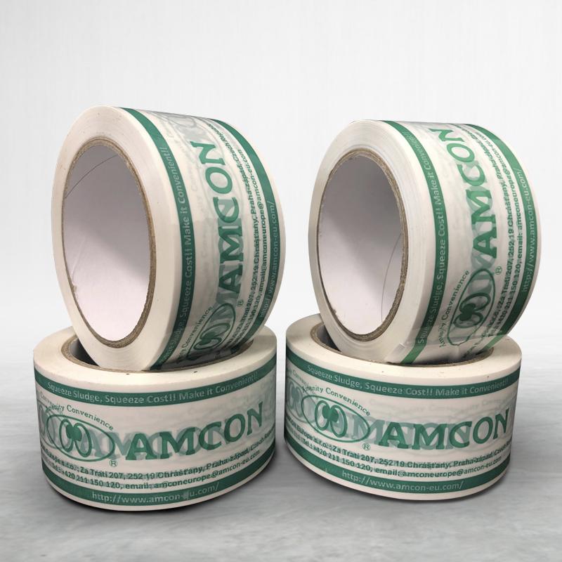 Adhesive custom printed packing pvc tape Amcon-eu