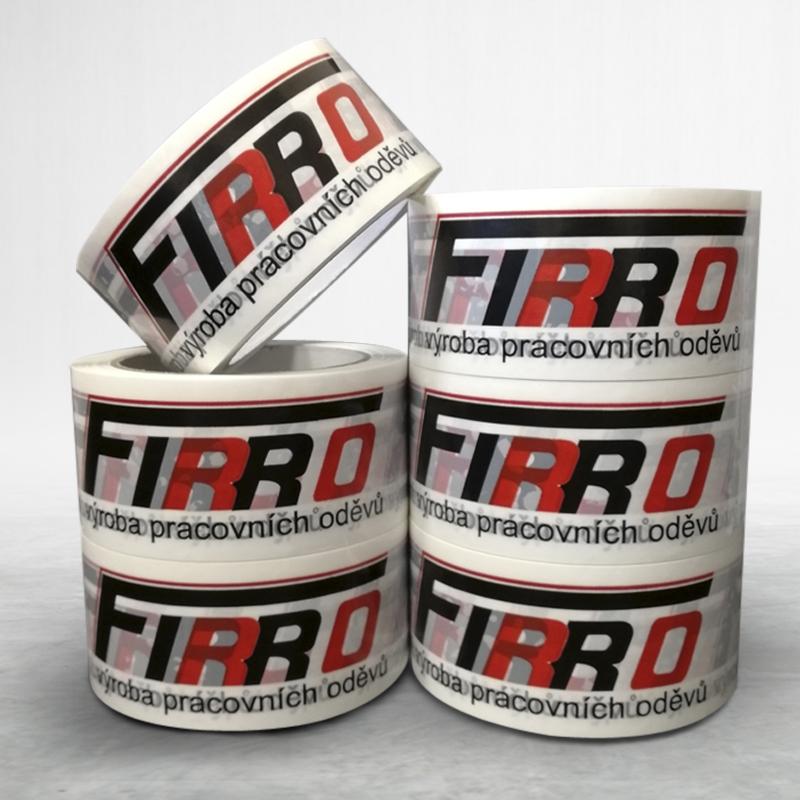 Adhesive custom printed packing pvc tape Firro