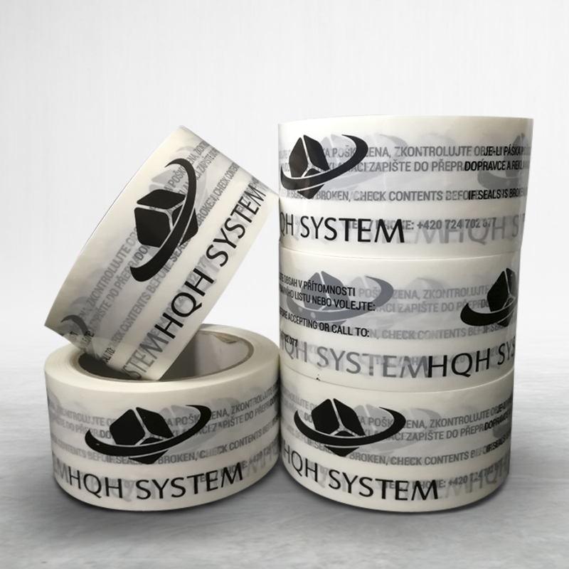 Reklamní lepící páska s potiskem HQH System