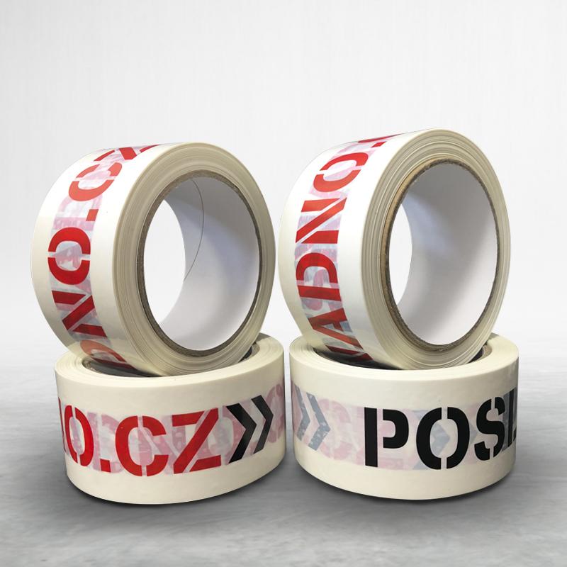 Adhesive custom printed packing bopp tape