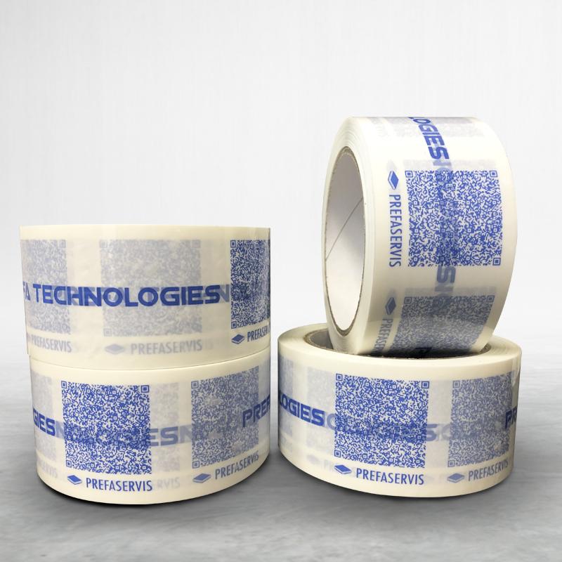Reklamní balící lepící páska s potiskem Prefaservis