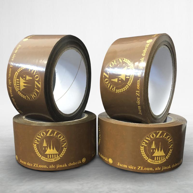 Adhesive custom printed packing pvc tape Pivo Zloun