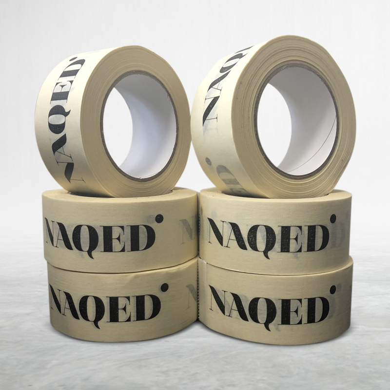 Adhesive custom printed packing pvc tape NAQED