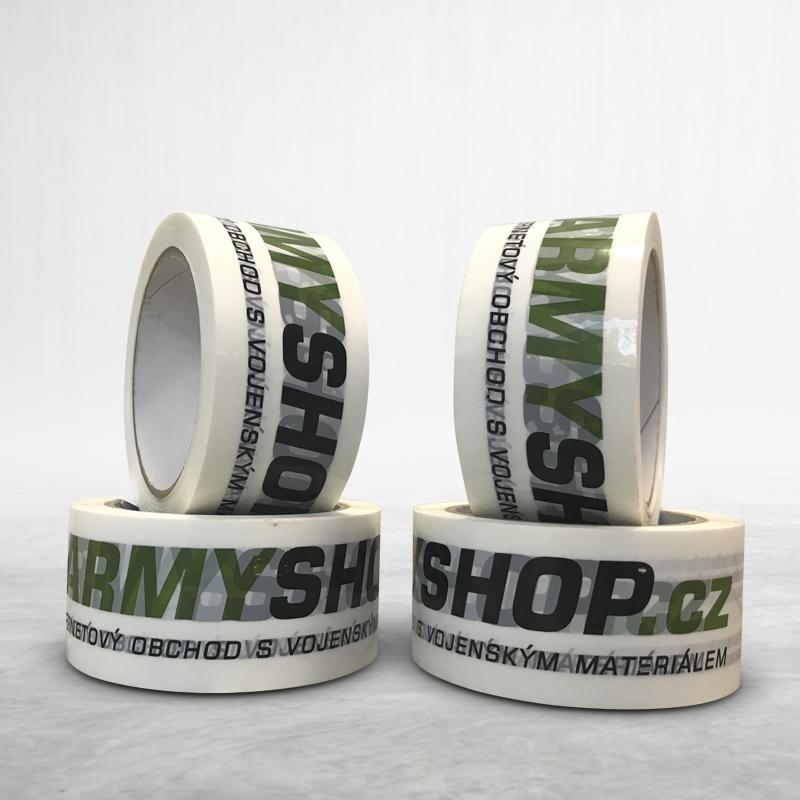 Adhesive custom printed packing pvc tape armyshop.cz