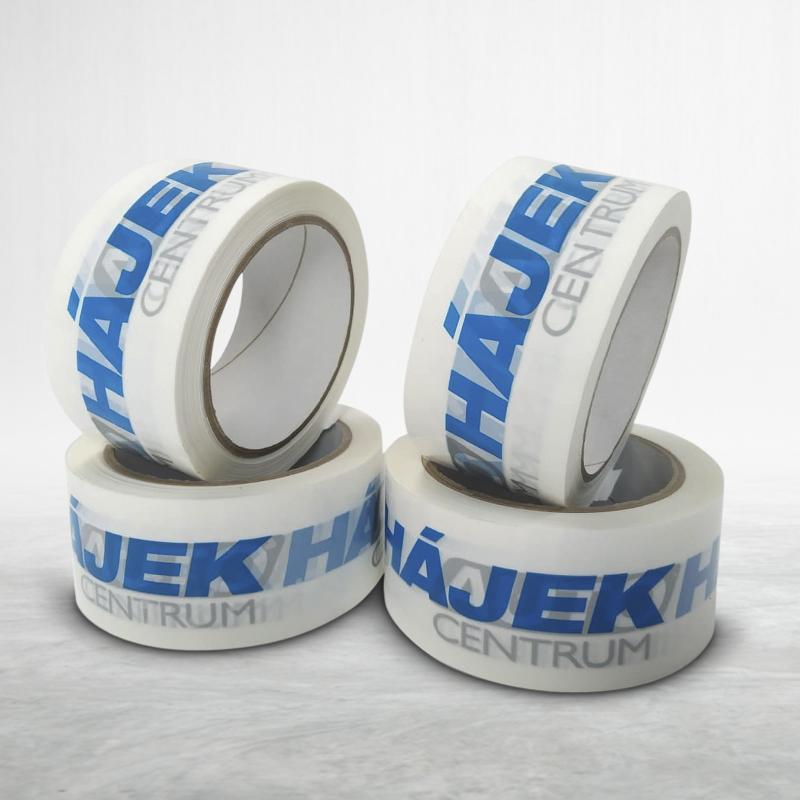 Reklamní balící lepící páska s potiskem Hájek