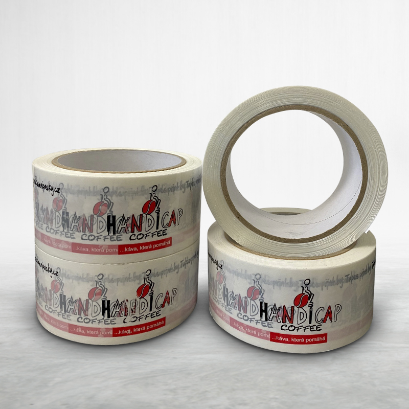 Reklamní balící lepící páska s potiskem