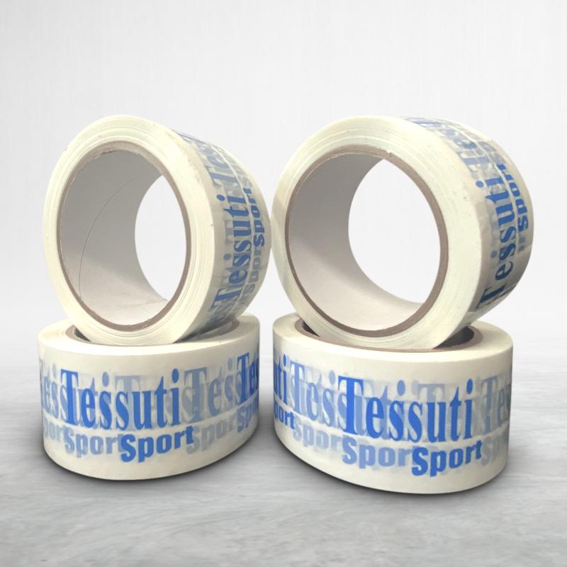 Adhesive custom printed packing tape Tessuti