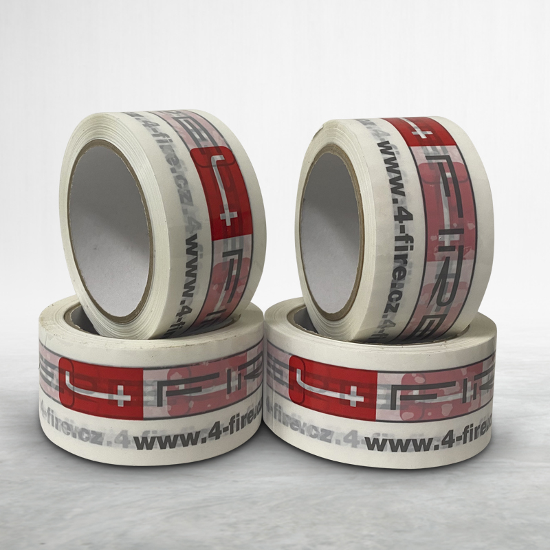 Adhesive custom printed packing tape 4 Fire