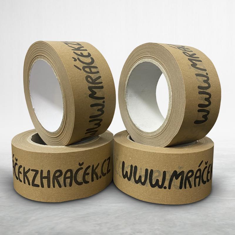 Adhesive custom printed paper packing tape Mráček z hraček